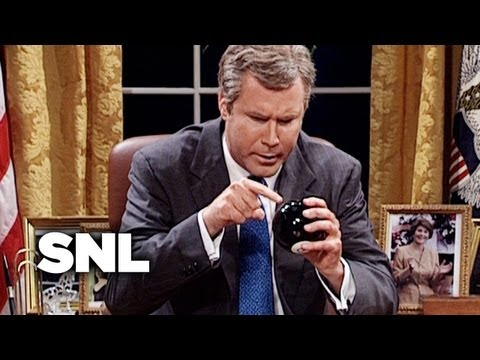 George W. Bush and Jenna - SNL