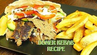 DONER KEBAB RECIPE I ڈونر کباب I डोनर कबाब *COOK WITH FAIZA*