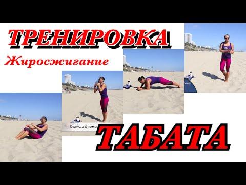 Протокол Табата тренировка по 4 минуты в день