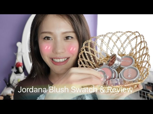 Review&Demo | Jordana腮红全脸试色