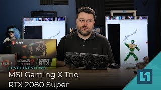 MSI Gaming X Trio RTX 2080 Super Review!
