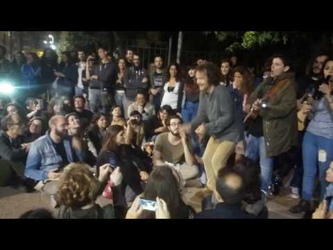 DAMIEN RICE Aftershow - Naples May 19th, 2017 - Damien's dance