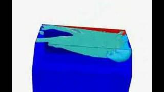LNG tank simulation
