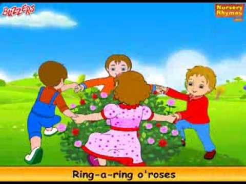 Ring A Ring O' Roses - Nursery Rhymes for Kids Buzzers