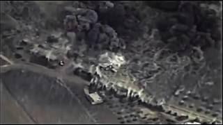 Последние новости  . Сирия .  Примерно так бомбят ИГИЛ русские летчики