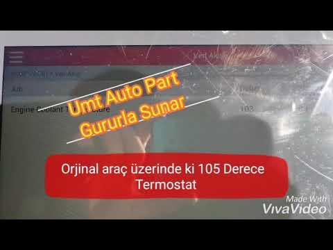 95 Derece Termostat Cruze Astra J Astra H