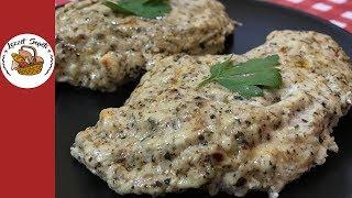 Fırında Parmesanlı Kolay Tavuk Tarifi | Pratik yemek tarifleri