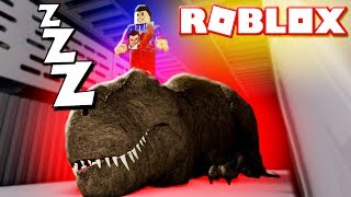 ROBLOX T-REX CAGE (Dinosaurs Jurassic World Bidding Scene Coming Soon)