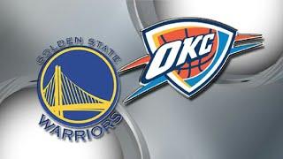 NBA Live 18 Golden State Warriors Vs Oklahoma City Thunder Full Game