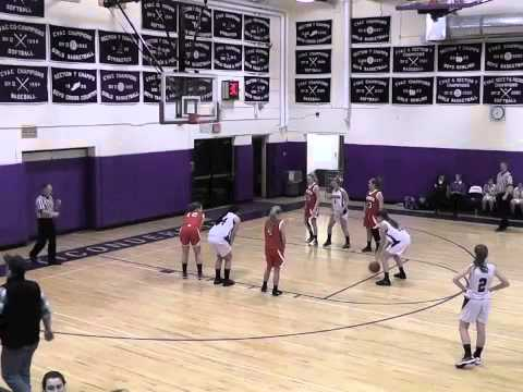 Ticonderoga - Moriah Varsity Girls 1-4-13