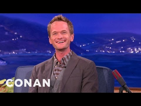 Neil Patrick Harris Discusses Man-On-Man Butt-Touching