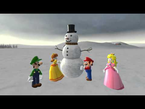 I Want It to Snow - A Mario-themed Christmas song