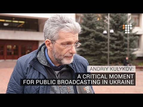 A Critical Moment For Public Broadcasting in Ukraine