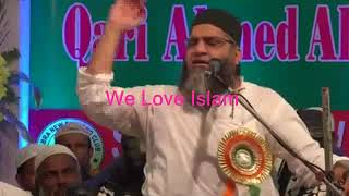 What Kind of Hair Style Allowed In islam ? Qari Ahmad Ali saab Latest Funny Bayan