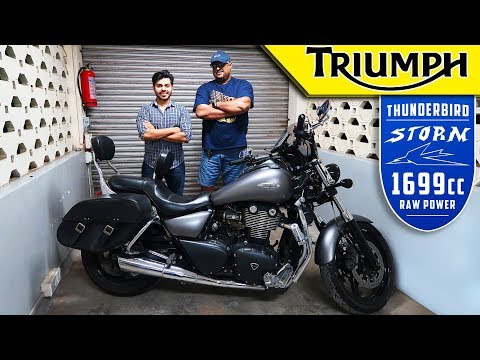 Should you Buy TRIUMPH THUNDERBIRD STORM1700cc? | Living With It Episode No.4 | Ownership Experience