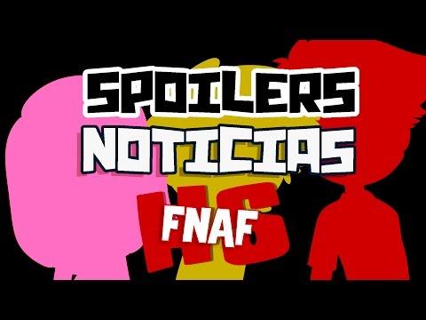 SPOILERS Y NOTICIAS SEGUNDA TEMPORADA | #FNAFHS