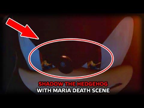 SHADOW THE HEDGEHOG WITH MARIA DEATH SCENE