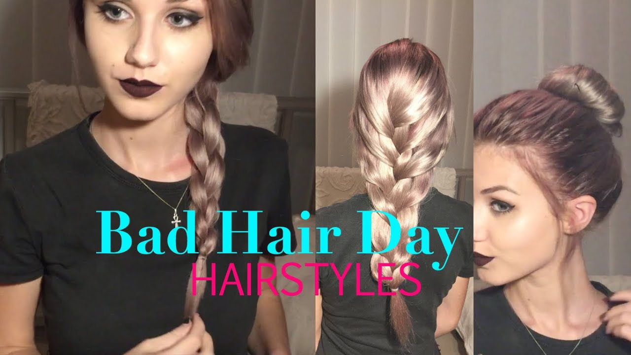 4 easy 'bad hair day' hairstyles | stella