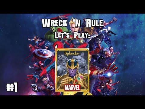 Wreck 'n Rule - Marvel Splendor - Joe vs RJ - First Game