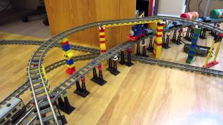 Repeat youtube video LEGO Thomas the Tank Engine train delivers Kraft peanut butter!