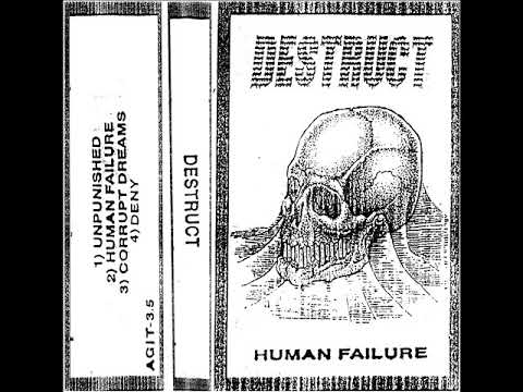 Destruct - Human Failure Tape (2018) Mp3