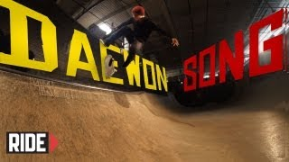 Daewon Song Skateboarding in Slow Motion - Blunt Stall Bigger Flip