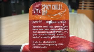 McDonald's Spicy Chilli Dip Review