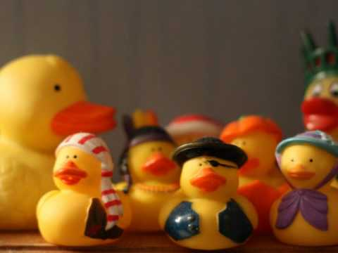 Rubber Duck Stop Motion - YouTube