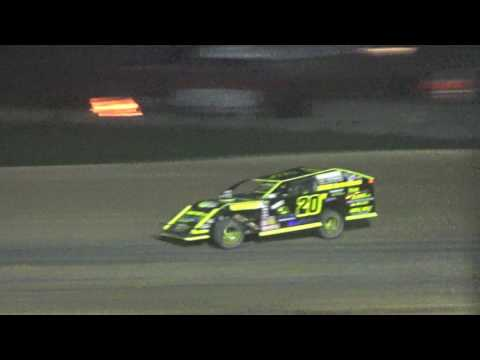 23. I.M.C.A. Feature Race at  Crystal Motor Speedway, Michigan, 04-22-17