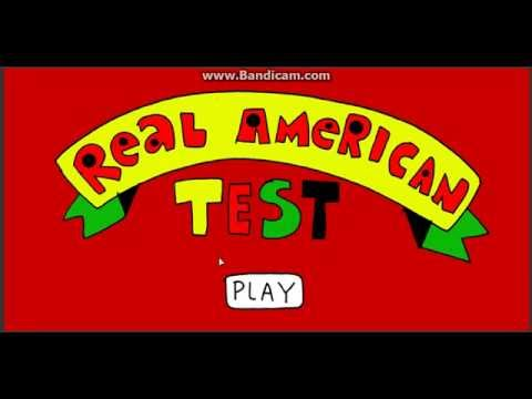 Real American Test All Right Answers