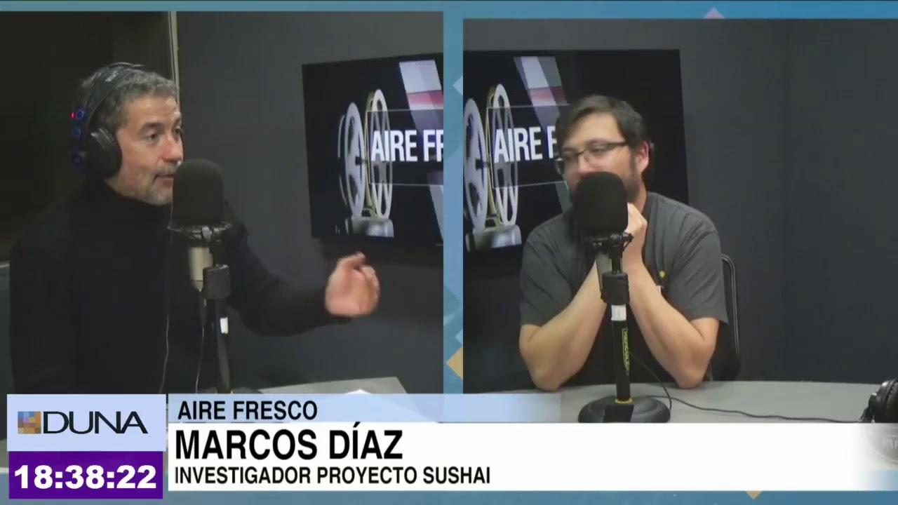 Marcos Díaz presenta proyeto Sushai en Aire Fresco Miércoles 28 ...