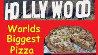 Hollywood Big Mama's & Papa's Pizzaria ~ Biggest Pizza in the World
