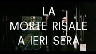 La morte risale a ieri sera (1970) - Open Credits