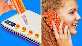 22 PHONE CASE IDEAS YOU HAVEN'T SEEN BEFORE || TOTALLY COOL DIY PHONE CASES