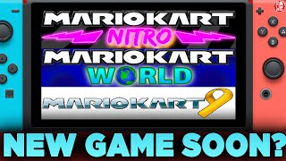 Will We Get A NEW Mario Kart Game On SWITCH Soon?