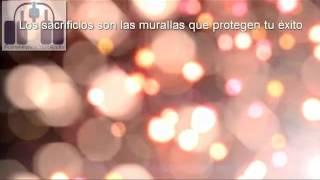 #reflexión Los sacrificios, las murallas que protegen tu éxito #motivación