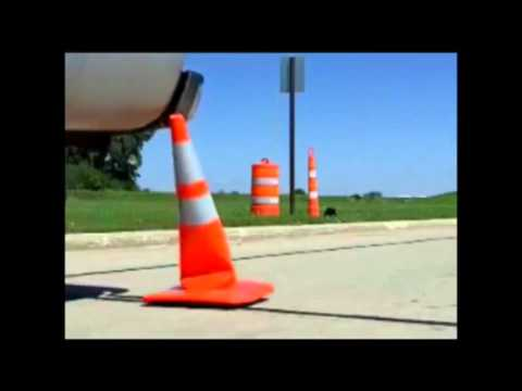 28 Inch Safety Cone W/ 2 Reflective Collars