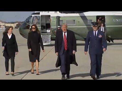 Começa fase pública de  impeachment  a Trump