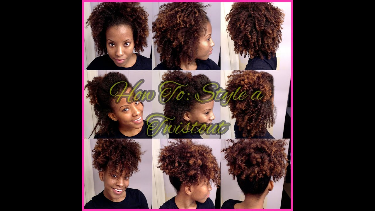 "Four Easy Styles With A Twist Out! ""Natural Hair"" YouTube"