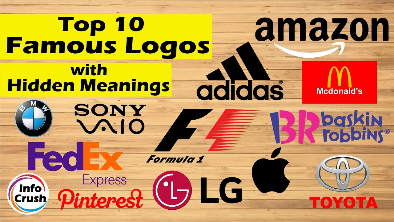 Famous Logos with Hidden Meanings | Tamil | Info Crush