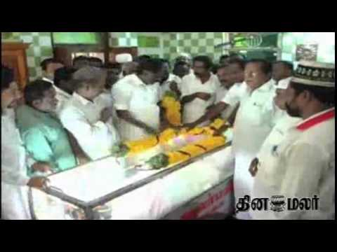 Nagoor Hanifa Passed Away - Dinamalar April 9th 2015 Tamil Video News