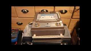 RCA Victor Magazine Loaded SOUND TAPE Cartridge player