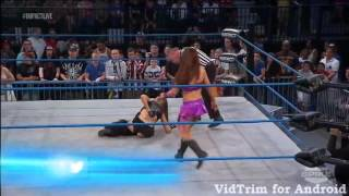 Velvet sky vs Madison Rayne Street fight Tna