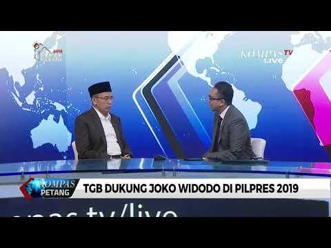 TGB Bicara Soal Dukungannya Kepada Joko Widodo