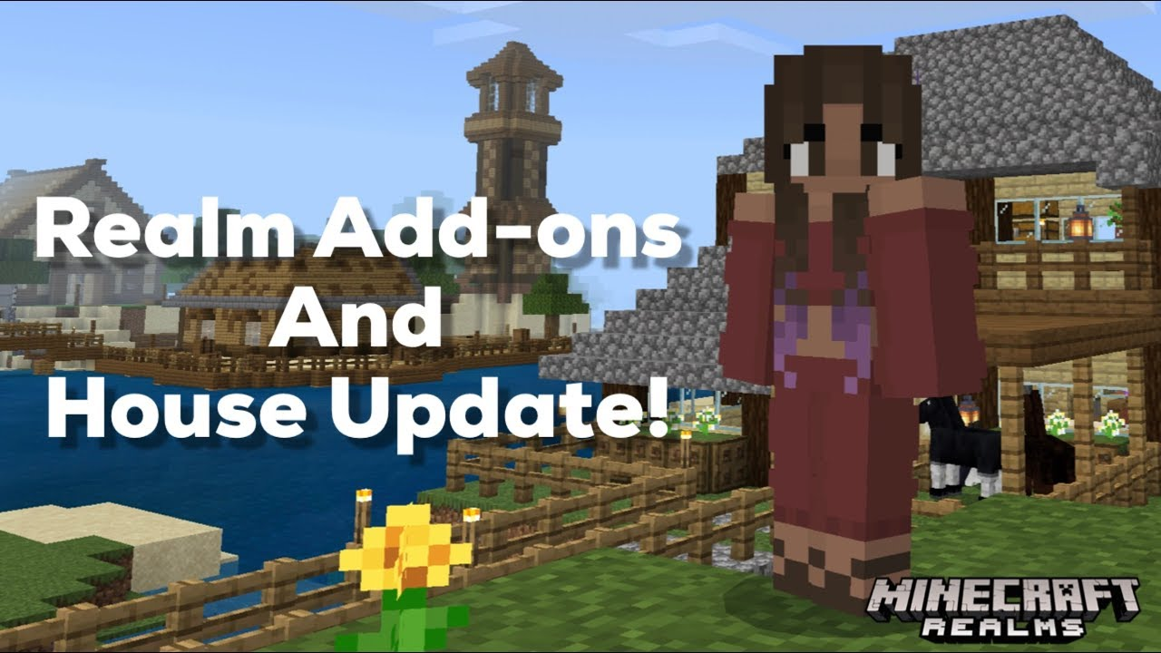 Minecraft Realms 5: Realm Add ons House Update YouTube
