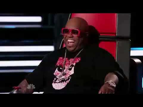THE VOICE 1 Nakia Forget You, Cee Lo Green