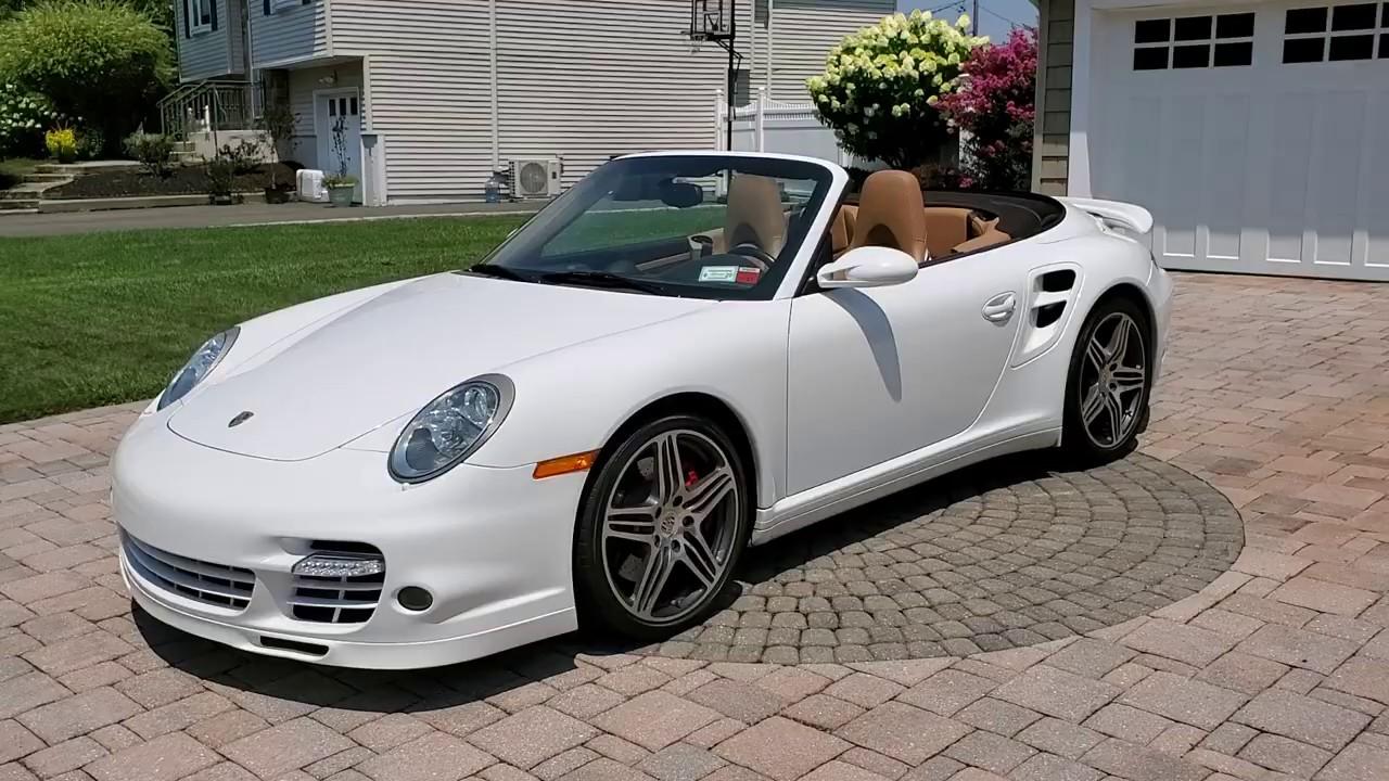 2008 Porsche 911 Turbo Cabriolet For Salerare Color Combinationonly 40000 Original Miles