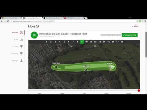 Microsoft Band 2 Golf Video Part 2