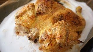 Самая вкусная жареная курица/Курица на соли