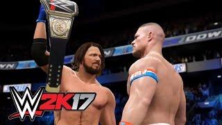 WWE 2K17 - Finishing Moves ( Finishers ) Gameplay